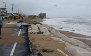 Lillian Street in, Kitty Hawk, NC, October 2015. (Photo credit: National Weather Service, used with permission.)