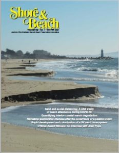 Latest Issue of Shore & Beach Magazine